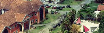 Imagem superior do campus da Fiocruz, em Manguinhos