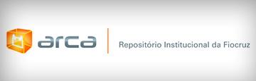 Imagem com logotipo Arca, escrito Repositório Institucional da Fiocruz