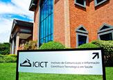 Fachada do prédio do Icict
